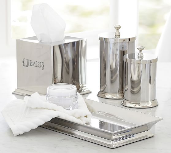 Mercer Bath Accessories Pottery Barn