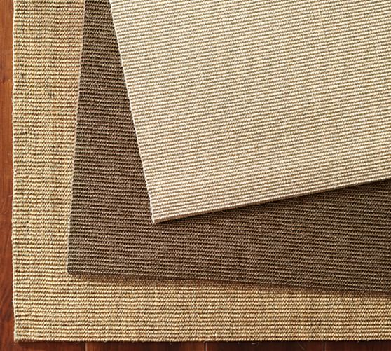Solid Sisal Rug Swatch