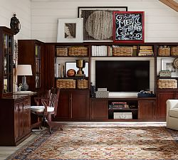 tv stands on sale media storage on sale pottery barn