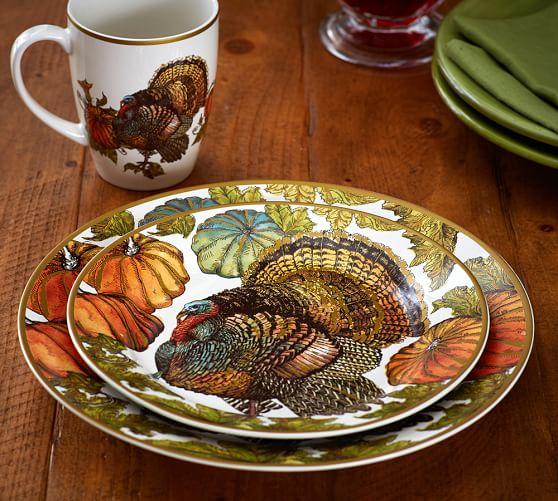 Heritage Turkey Dinnerware