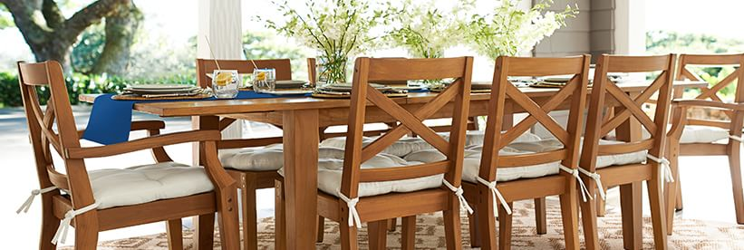 Outdoor Amp Patio Dining Furniture Pottery Barn