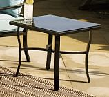 Riviera Side Table with Glass Top