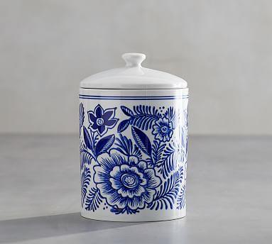 elsie canister pottery barn