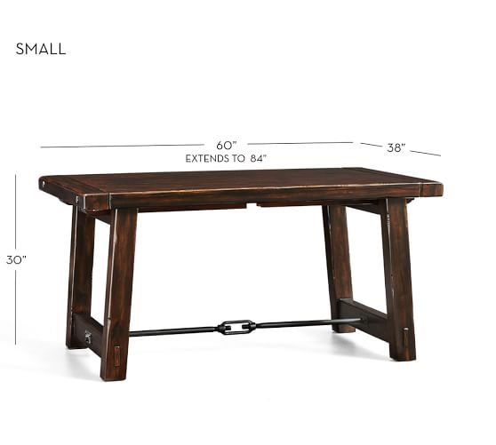 Benchwright Extending Dining Table Pottery Barn : benchwright extending dining table 1 c from www.potterybarn.com size 558 x 501 jpeg 15kB