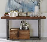 Griffin Wrought Iron & Reclaimed Wood Console Table