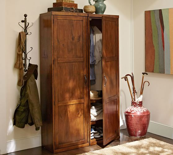 wall mount coat rack pottery barn. Black Bedroom Furniture Sets. Home Design Ideas