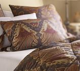 Brennan Ikat Comforter, Twin, Purple