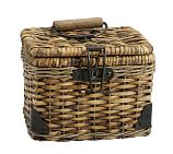 Daytrip Lidded Split Rattan Basket, Small