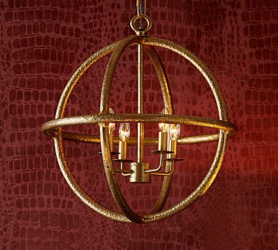 Gold Sphere Pendant