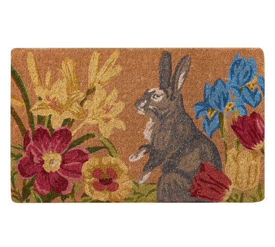 Botanical Bunny Doormat