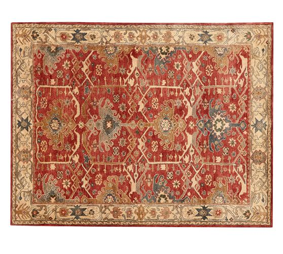 Rug Barn By Channing Persian Style Rug Pottery Barn ...
