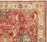 Channing Persian-Style Tufted Wool Rug Swatch, Multicolor
