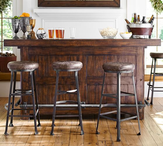 Rustic Ultimate Bar Large Pottery Barn