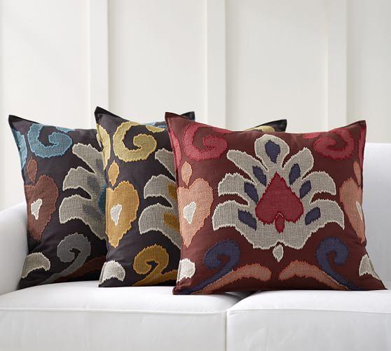 emilia pillow cover pottery barn. Black Bedroom Furniture Sets. Home Design Ideas