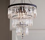 Adele Crystal Chandelier, Large
