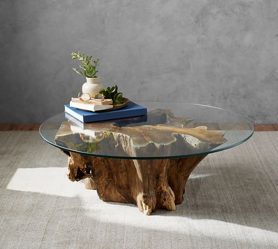 Driftwood Coffee Table Pottery Barn