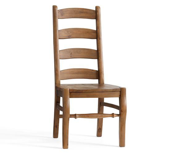 Wynn ladderback chair pottery barn Ladder back chairs