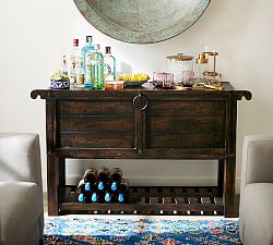 Home Bar Amp Bar Furniture Pottery Barn