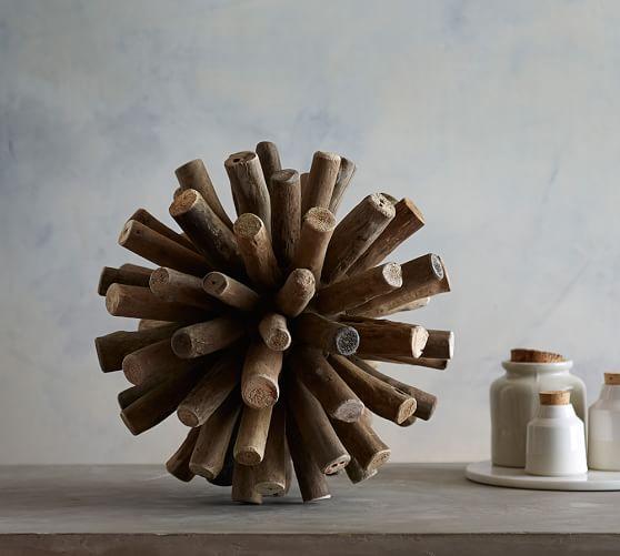 Pottery Barn Sputnik Chandelier: Driftwood Sputnik