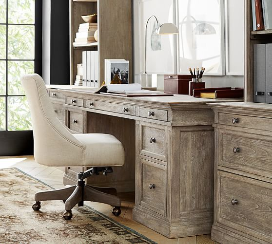 Livingston Large Desk Pottery Barn