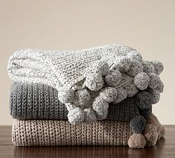 Throws Throw Blankets Amp Decorative Throws Pottery Barn