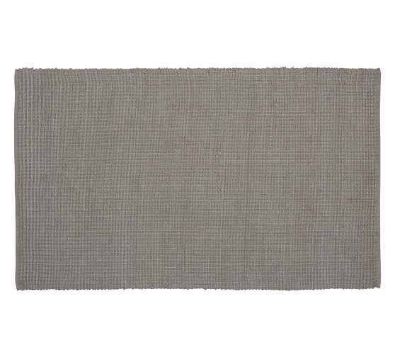 Mason Boucle Jute Rug, 5x8', Gray