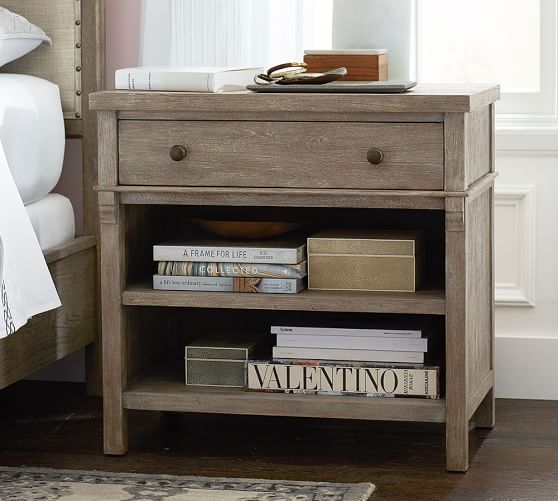 Toulouse Bedside Table Pottery Barn