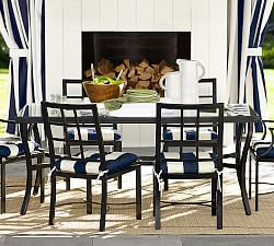 metal patio furniture pottery barn