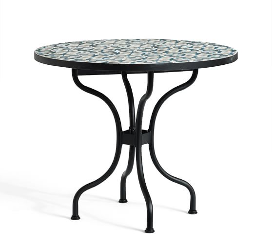 Tile Bistro Table Additional Images Terra Cotta