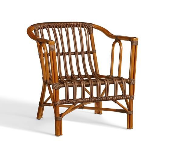 Taryn Rattan Chair Pottery Barn