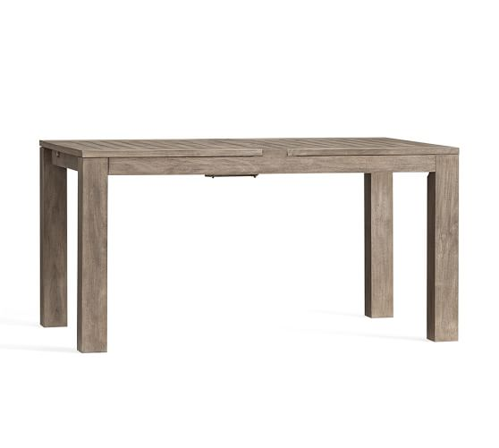 Indio Rectangular Extending Dining Table Pottery Barn