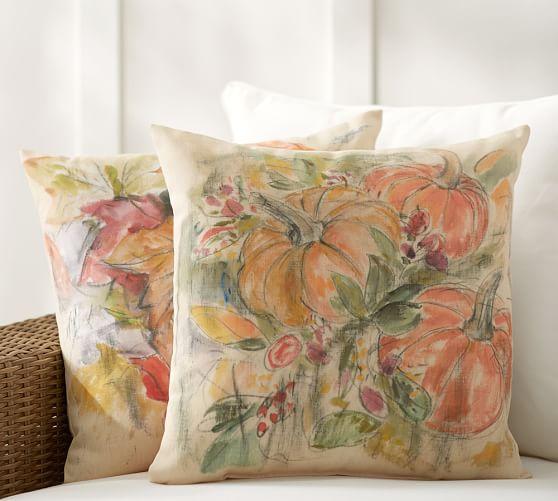 Foliage Print Indoor Outdoor Pillows