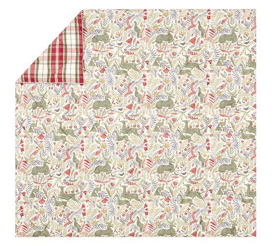 Llew Deer Reversible Denver Plaid Comforter Amp Sham