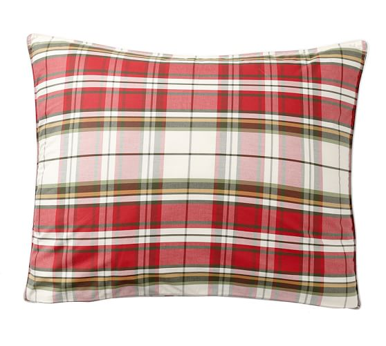 Llew Deer Reversible Denver Plaid Comforter Amp Sham