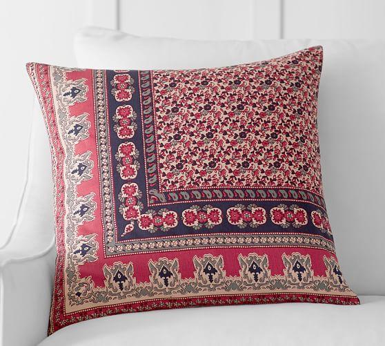 Isabella Kalimkari Pillow Cover Pottery Barn