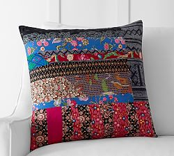 Lyla Garden Print Pillow Cover Pottery Barn