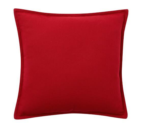 PB Classic Indoor/Outdoor Solid Pillow, 18