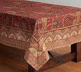 Caroline Paisley Tablecloth, 70 x 108