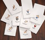 Reindeer Dinner Napkin, Set of 9