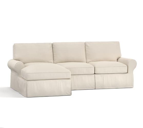 Pb Basic Sofa Slipcover Ebay: PB Basic Sectional Slipcovers