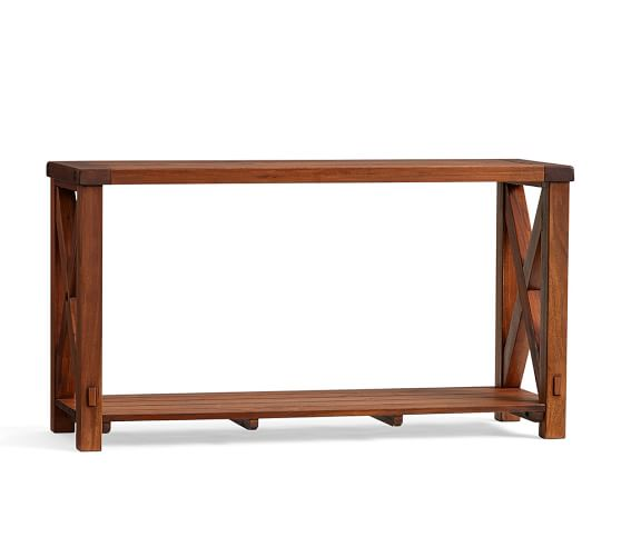Barkley Console Table: Benchwright Outdoor Console Table