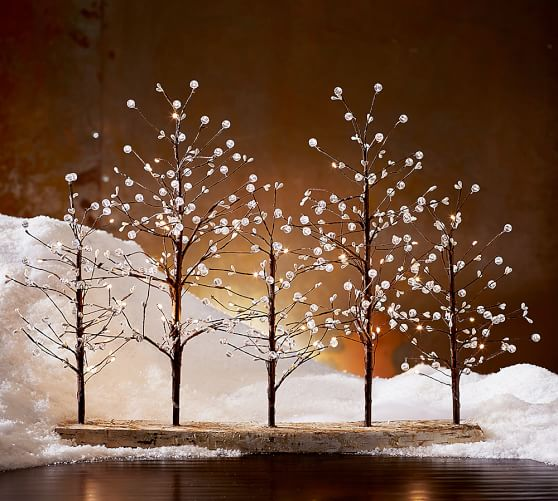 Faux Lit Berry Tree | Pottery Barn