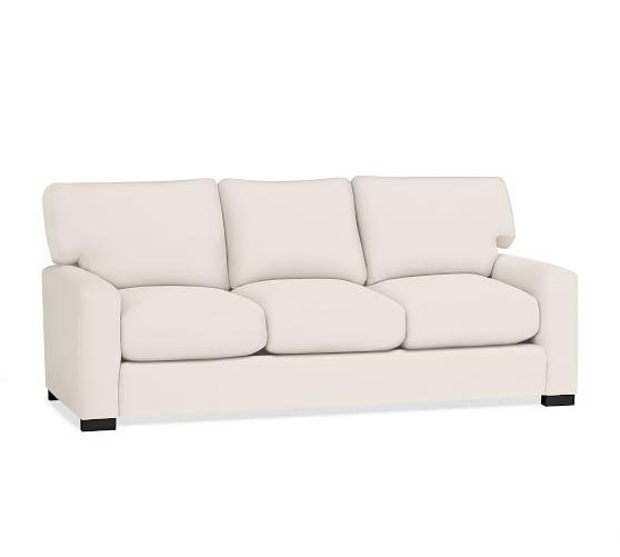 Turner square arm upholstered sleeper sofa pottery barn for Pottery barn turner sectional sofa