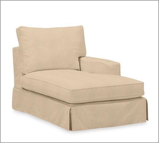 Build your own box edge pb comfort square arm for Box edge chaise cushion