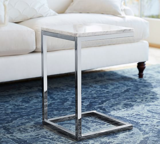 Marble Top : Bryn Marble-Top C Table Pottery Barn