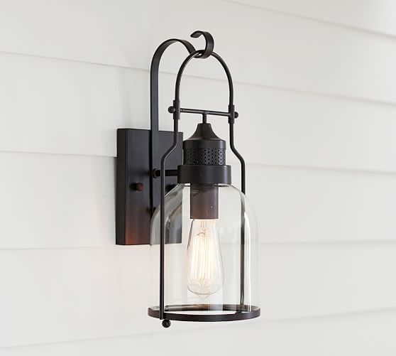 Taylor Indoor Outdoor Sconce Pottery Barn