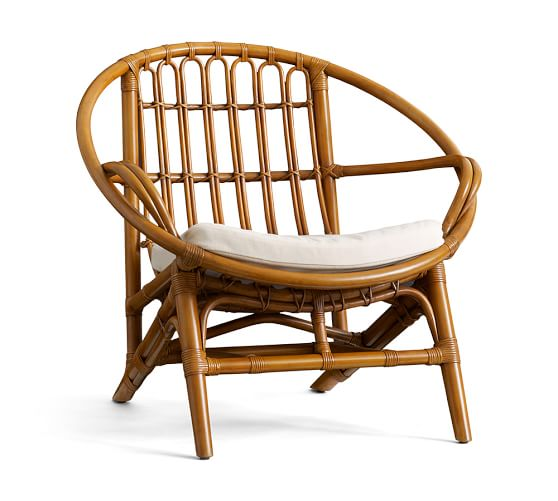 Luling Rattan Chair Pottery Barn