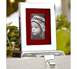 Engravable Frame Stocking Holder, Silver