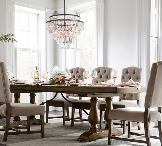 Pottery Barn Bellora Chandelier Reviews: Gemma Crystal Tiered Chandelier