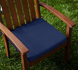 Sunbrella&#0174 Piped Outdoor Dining Chair Cushion; Cobalt